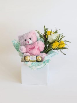 Snack & Gift Hampers: Celebrate a Baby Girl with Mini Ferrero
