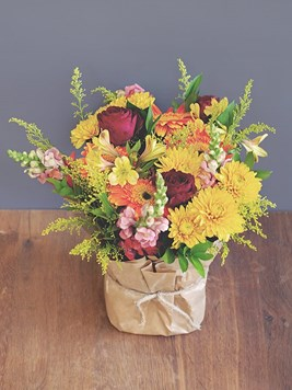 Arrangements: Sunrise Posy