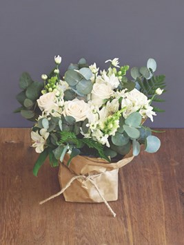 Arrangements: White Posy