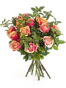 Bouquets: Orange Rose Bouquet
