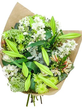 Bouquets: Mixed St Joseph Lily Bunch
